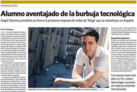 Entrevista en El Economista