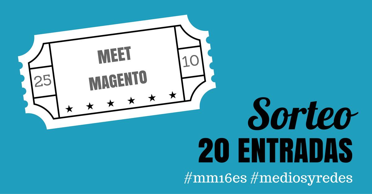 entradas gratuitas al Meet Magento